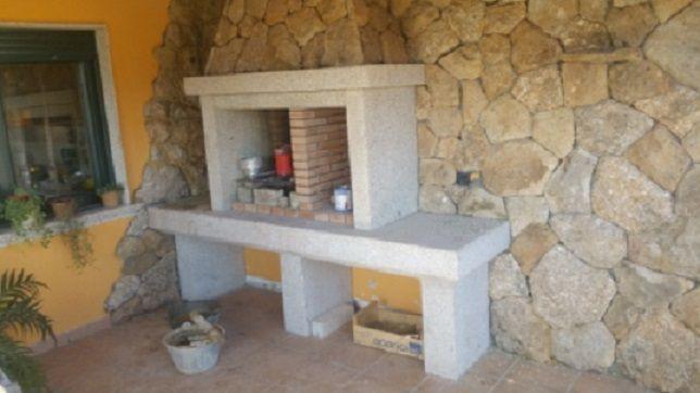Barbacoa de granito | Grupo Pazos