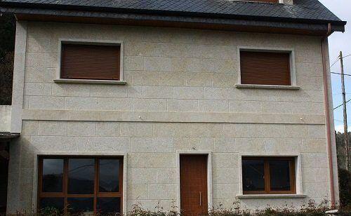 Fachada de piedra   Grupo Pazos