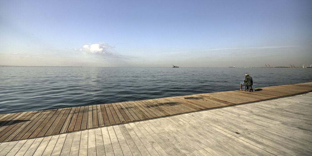 Paseo maritimo madera 1